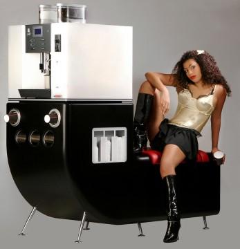 Prototyp einer Kaffeemaschine
